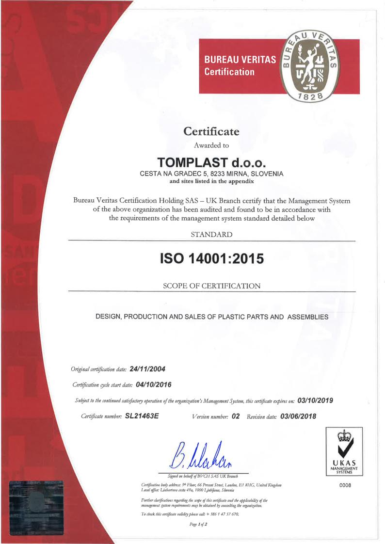 ISO/TS  16949:2016