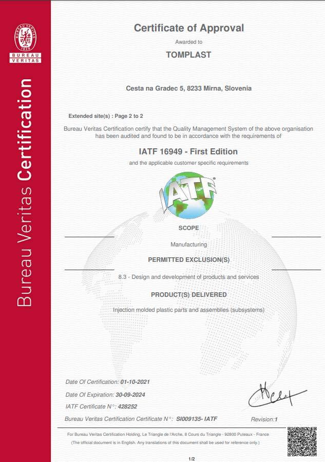 ISO/TS  16949:2010